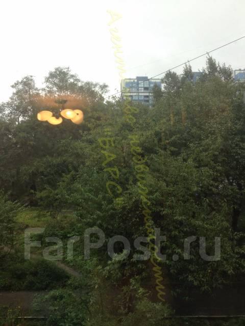 1-комнатная, проспект 100-летия Владивостока 26. Столетие, проверенное агентство, 30 кв.м. Вид из окна днём