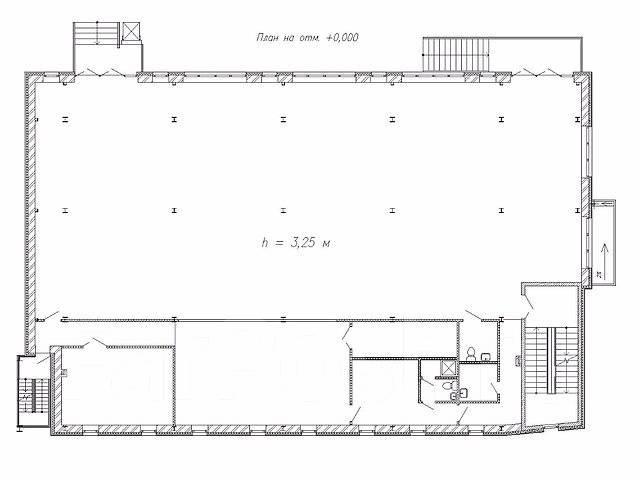 Продается строящееся 3-этажное здание по ул. Надибаидзе, 17а. Улица Надибаидзе 17а, р-н Чуркин. План помещения