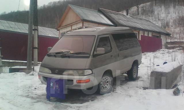 Toyota Lite Ace. автомат, 4wd, бензин