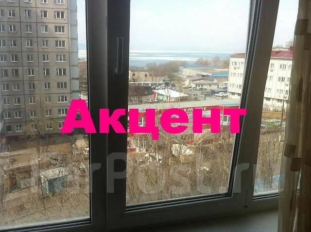 1-комнатная, улица Кирова 20а. Вторая речка, агентство, 32 кв.м. Вид из окна днем