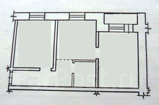 2-комнатная, квартал Солнечный город 30. Железнодорожный, агентство, 45 кв.м.