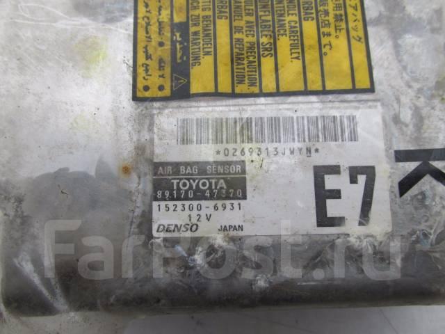 Блок управления airbag. Toyota Prius, NHW20 Двигатель 1NZFXE