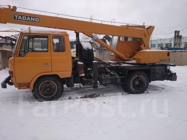 Hino Ranger. Продам автокран. или обменяю, цена снижена., 6 800 куб. см., 7 000 кг., 21 м.