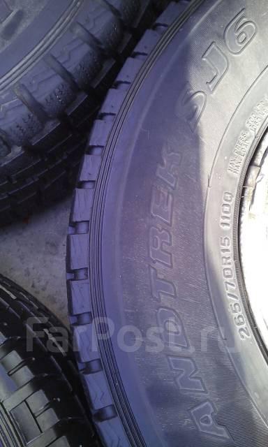 Dunlop Grandtrek SJ6. Зимние, без шипов, 2012 год, износ: 5%, 4 шт