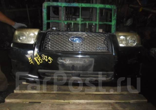 Ноускат. Subaru Forester, SG5 Двигатель EJ203