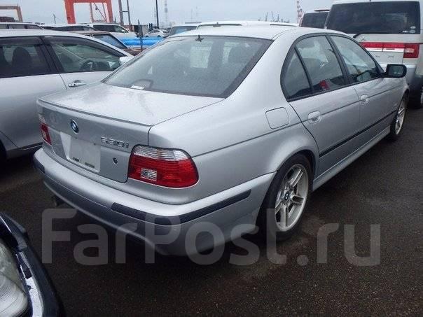 Спойлер. BMW 5-Series, E39