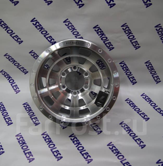 Lenso. 8.5x16, 6x139.70, ET0, ЦО 106,0мм.