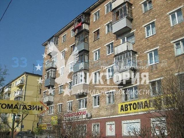 1-комнатная, улица Калинина 49. Чуркин, агентство, 33 кв.м. Дом снаружи