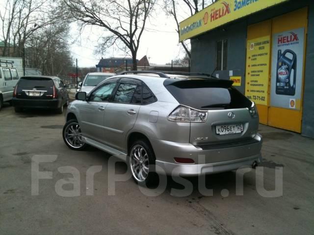 Обвес кузова аэродинамический. Lexus RX330