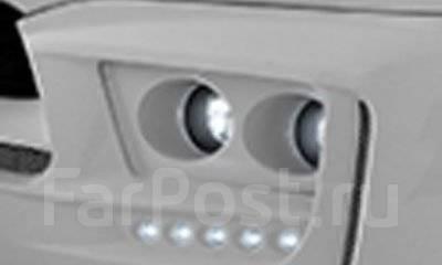 Вставки в передний бампер Infiniti QX80/QX56 10- Tommy Kaira с туманка. Infiniti QX56 Infiniti QX80. Под заказ