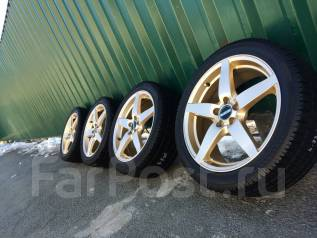Редкость Euro Edition R17 5*100+зима Pirelli 215/45/17, отправка. 7.0x17 5x100.00 ET48 ЦО 73,0мм.