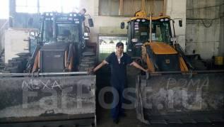 Машинист экскаватора-погрузчика. от 50 000 руб. в месяц