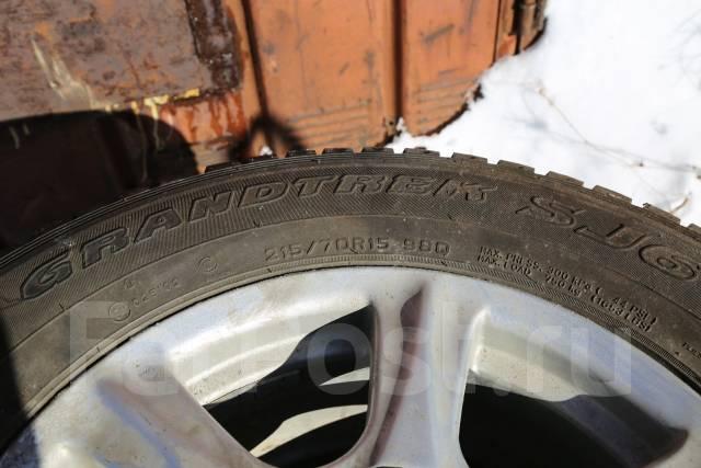 Dunlop Grandtrek SJ6. Зимние, без шипов, 2007 год, износ: 20%, 4 шт