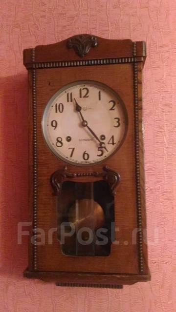 Старинные японские часы с боем. Оригинал
