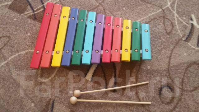 Ксилофоны.