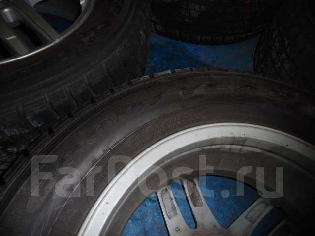Шины зимние Googyear 215/65 R16 с дисками 5х100. 6.5x16 ET47