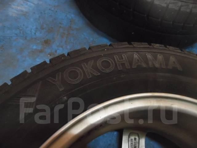 Шины зимние Yokohama 195/65 R15 с дисками 5X114.3 5X110. 6.0x15 ET45