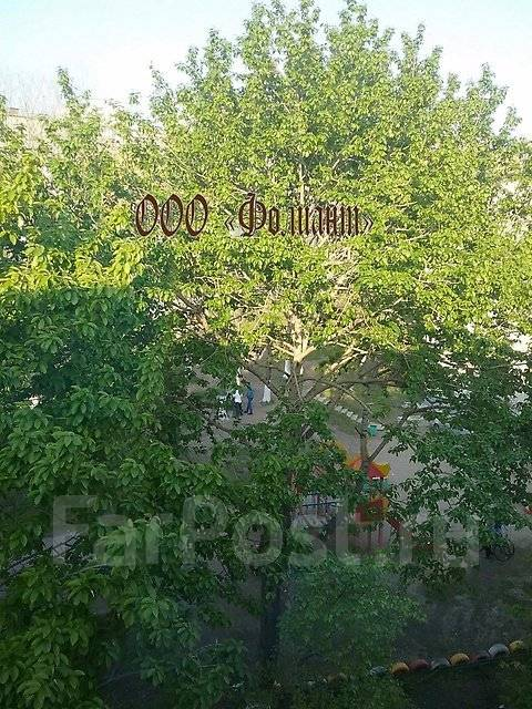 2-комнатная, улица Сахалинская 17. Тихая, агентство, 44 кв.м. Вид из окна днём