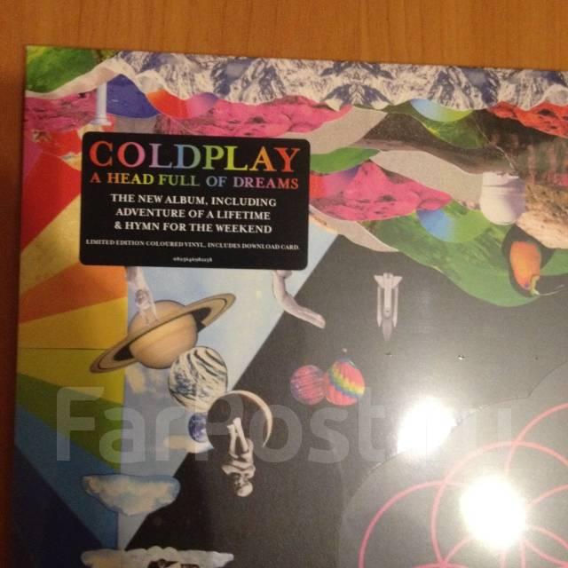 Coldplay виниловая пластинка (цветной винил)