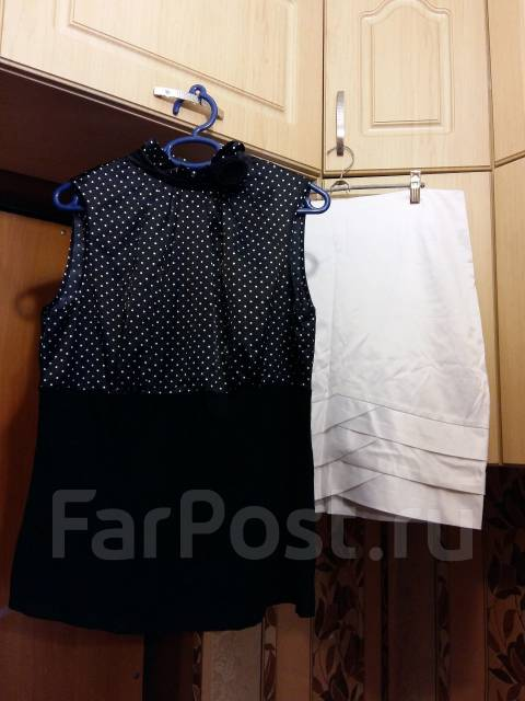 Блузка и юбка б/у 48-50 р. 48, 50