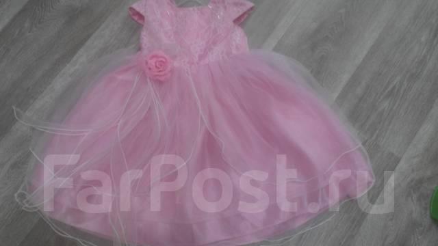 Платья. Рост: 60-68, 68-74, 74-80 см