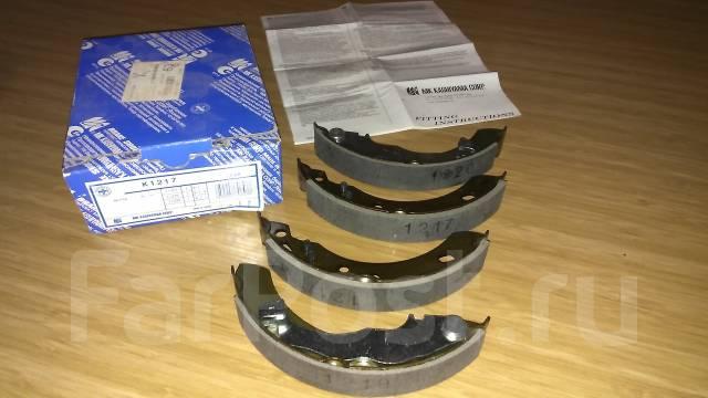 Колодка тормозная барабанная. Nissan Micra, K12 Двигатели: CG13DE, CG12DE, CGA3DE, CG10DE