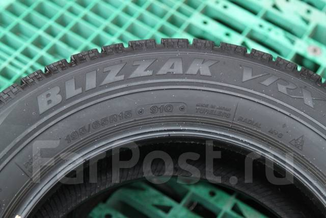 Bridgestone Blizzak VRX. Зимние, 2013 год, износ: 30%, 2 шт