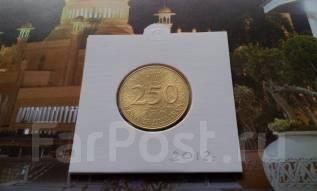 Ливан. 250 ливров 2012 года. UNC!
