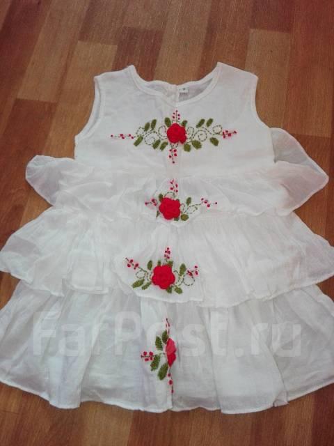 Платья. Рост: 74-80, 80-86, 86-98 см