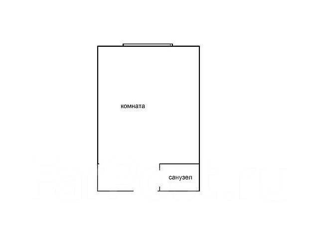 Гостинка, улица Луговая 83. Баляева, частное лицо, 15 кв.м. План квартиры