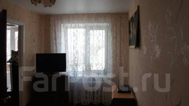 2-комнатная, улица Лермонтова 19. Трудовое, частное лицо, 45 кв.м. Вид из окна днём