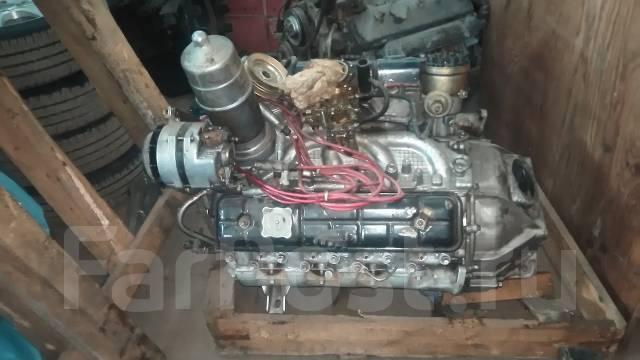 Двигатель. ГАЗ 66