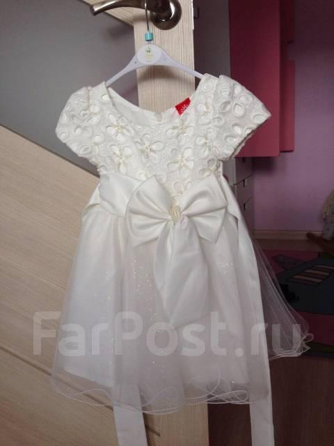 Платья бальные. Рост: 80-86, 86-98 см