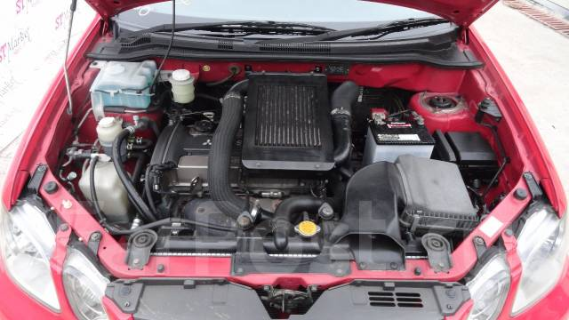 Защита двигателя. Mitsubishi Airtrek, CU2W Двигатель 4G63T