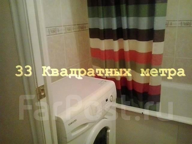 1-комнатная, улица Луговая 59а. Луговая, агентство, 32 кв.м. Ванная