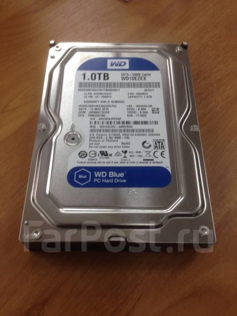 Жесткие диски. 1 024 Гб, интерфейс SATA