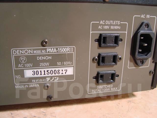 Усилитель Denon PMA-1500 R II отличный