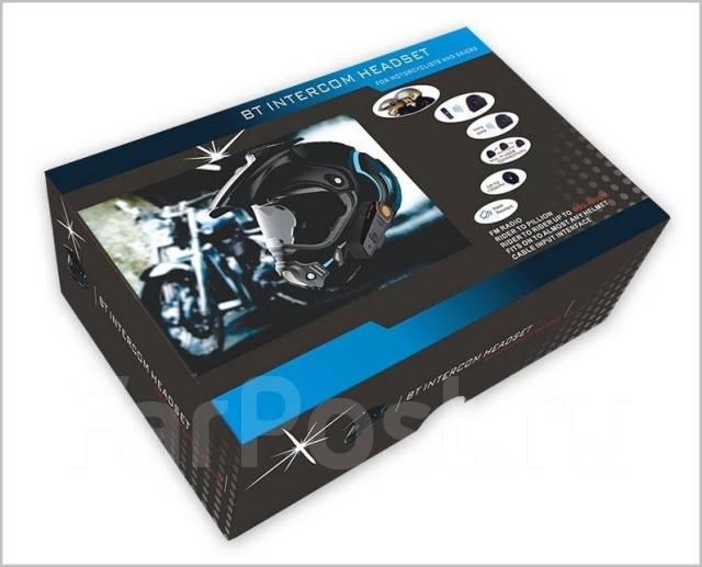 Беспроводная Bluetooth гарнитура для мотоциклетного шлема