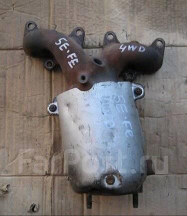 Коллектор выпускной. Toyota Raum, EXZ15 Двигатель 5EFE
