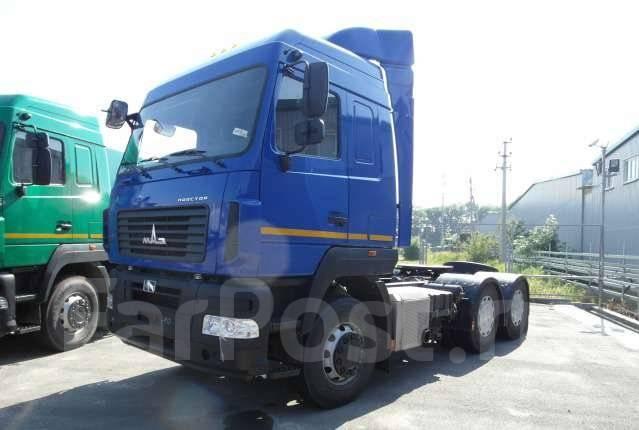 МАЗ 6430В9-1420-010. Седельный тягач МАЗ-6430В9-1420-010, 1 000 куб. см., 1 000 кг.