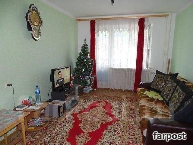 3-комнатная, улица Адмирала Горшкова 40. Снеговая падь, проверенное агентство, 69 кв.м. Интерьер