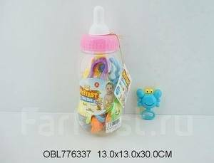 Бутылочка с погремушками my first toy best
