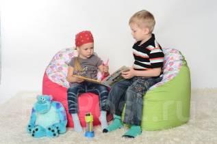 Бескаркасная мебель, кресло-мешок Боб детский