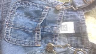 Сарафаны джинсовые. Рост: 50-60, 60-68, 68-74, 74-80, 80-86 см