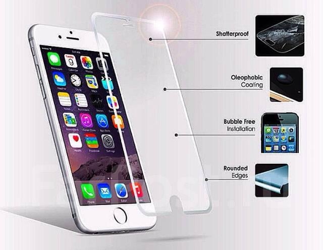 Продам бронестекла на iPhone 5/5s/5c