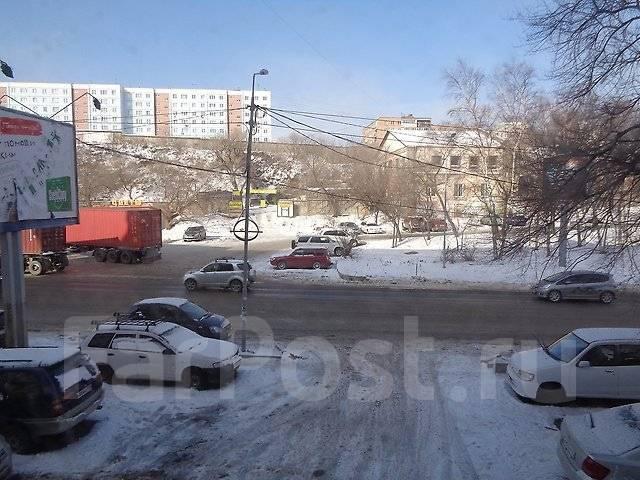 Гостинка, улица Нижнепортовая 6г. Эгершельд, агентство, 20 кв.м. Вид из окна днём