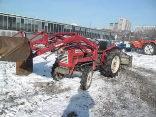 Yanmar. Трактор 4wd, погрузчик, фреза
