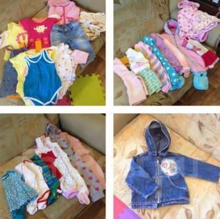 Пакет одежды на девочку. Рост: 68-74 см