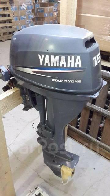 yamaha 15 двухтактный подвесной лодочный мотор ямаха 15 л.с