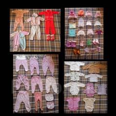 Вещи пакетом на девочку, от 0-1 года. Рост: 60-68, 68-74 см